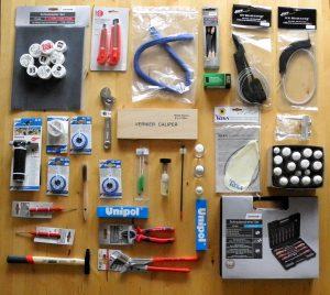 Der Blechblasinstrumente Reparatur- und Pflegetisch